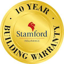 10 year Stamford building warranty logo